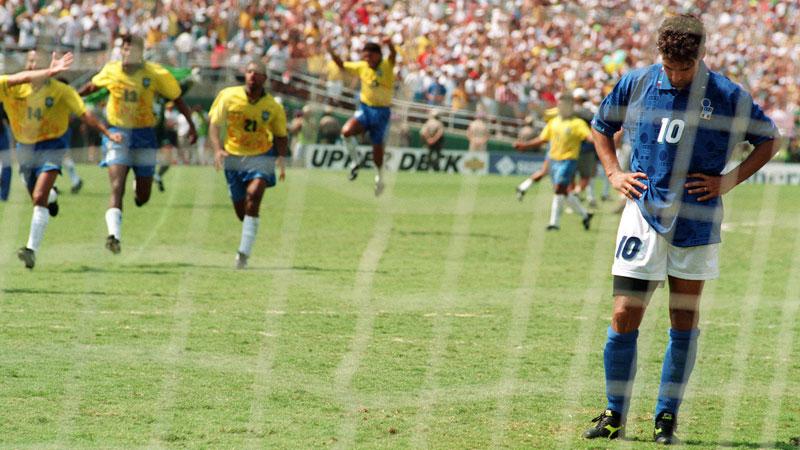 Zidane Walks Past World Cup