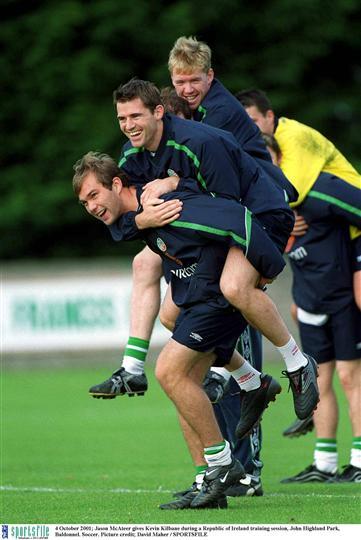 McAteer Kilbane - Stan  4 Oct 2001