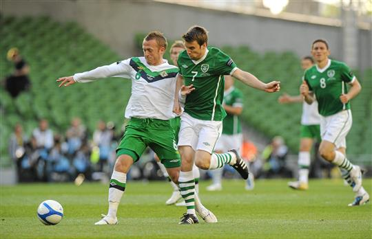 ireland soccer game today