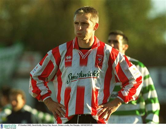 David kelly derry city league of ireland