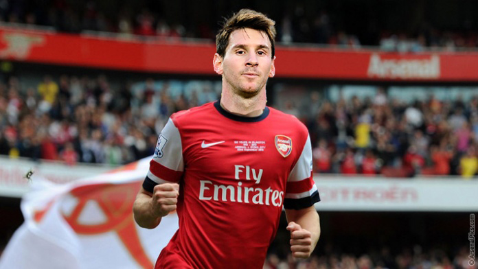 messi arsenal