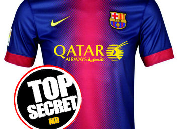 New Qatar Airways Sponsered Barcelona Jersey Leaked Balls Ie