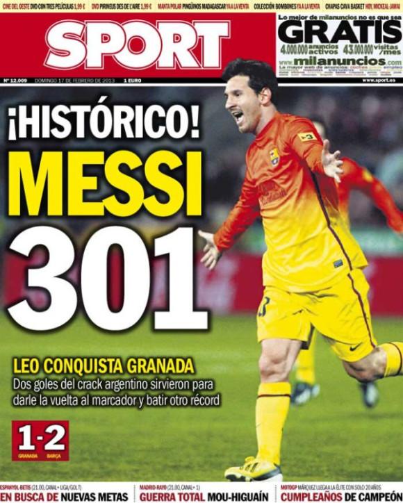 Messi 301 Sport