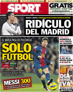 Madrid lose to Ronaldo Own Goal