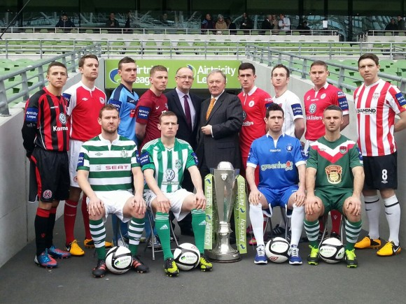 Airtricity League 2013 launch