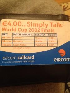 callcard back