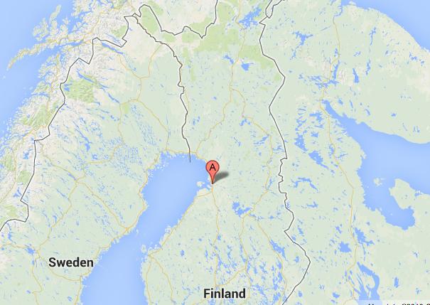 Google Maps Helsinki
