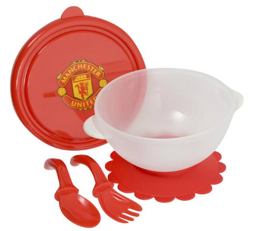 Man Utd Weaning Bowl