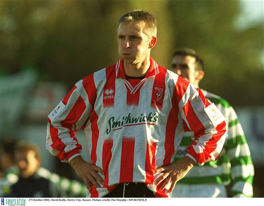 David kelly derry city league of ireland