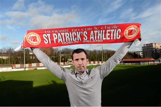 Keith fahey st patrick's athletic league of ireland