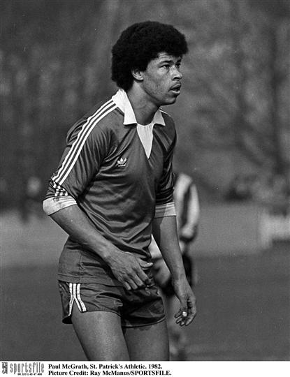 Paul McGrath st patrick's athletic league of ireland