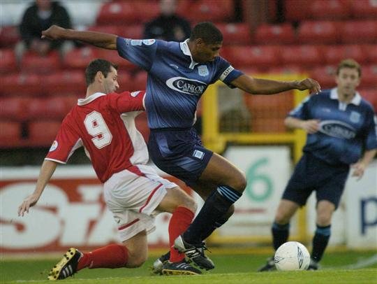 Carlton Palmer - Dublin city - league of ireland