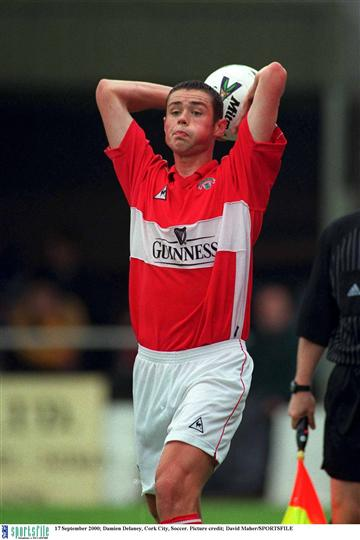 damien delaney cork city league of ireland