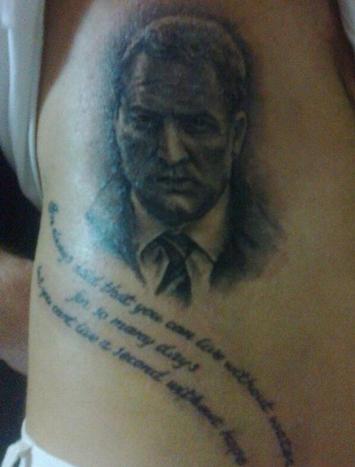 rodgers tattoo
