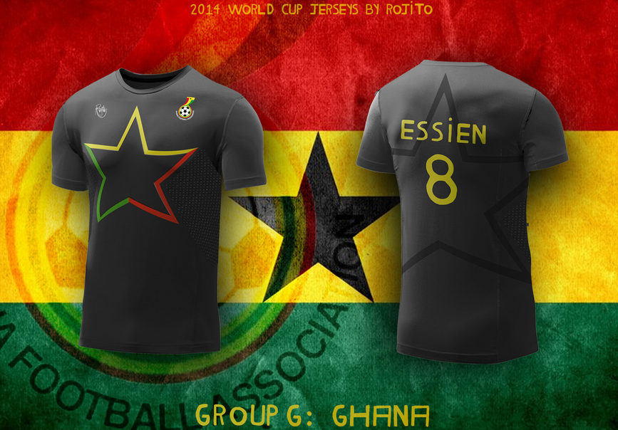 huge selection of c265e 150ec All This Year's World Cup Jerseys Redesigned For Our ...
