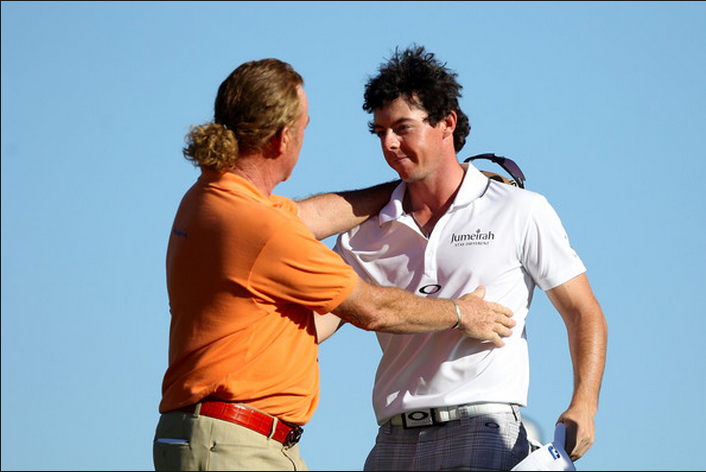 Jiménez consoles Rory on being chronically uncool in comparison to him.