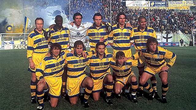 484ed44f9 The Glorious UEFA Cup Winning Parma Team Of 1999 - Where Are They ...