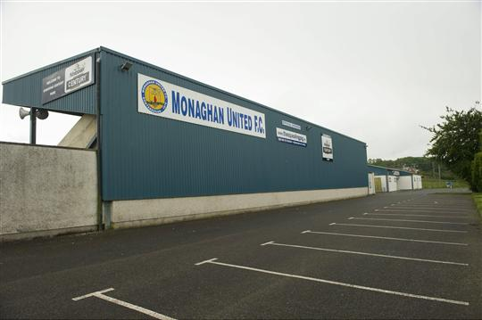 18 June 2012; A general view of the Gortakeegan pitch, home of Monaghan United F.C. Monaghan Town, Monaghan. Picture credit: Philip Fitzpatrick / SPORTSFILE