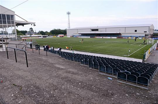 A general view of Oriel Park. Airtricity League Premier Division, Dundalk v Shamrock Rovers, Oriel Park, Dundalk, Co. Louth. Picture credit: David Maher / SPORTSFILE
