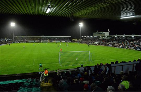 17 October 2014; A general view of Turners Cross during the game. SSE Airtricity League Premier Division, Cork City v Bohemians. Turners Cross, Cork. Picture credit: Matt Browne / SPORTSFILE