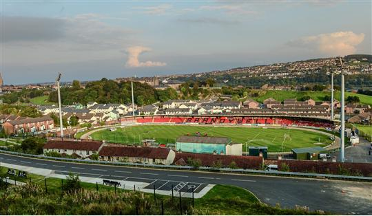 General view of the Brandywell Stadium, home of Derry City FC. FAI Ford Cup, Quarter-Final replay, Derry City v Drogheda United. Brandywell, Derry. Picture credit: Oliver McVeigh / SPORTSFILE