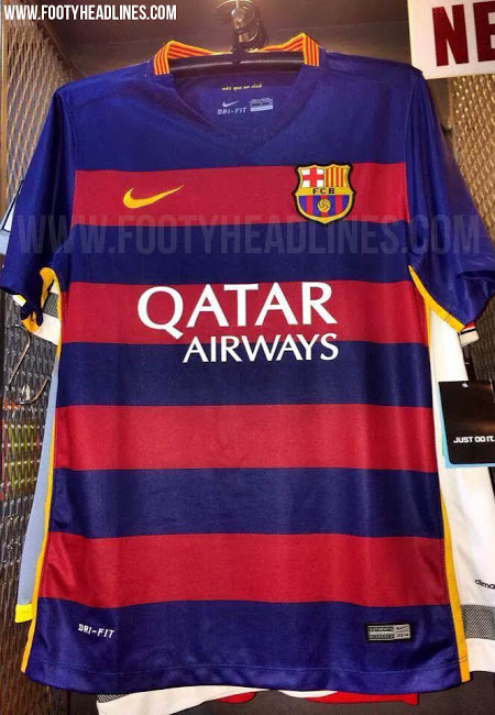 The New Barcelona Jersey Will Make History If The Rumoured Pictures Are True Balls Ie