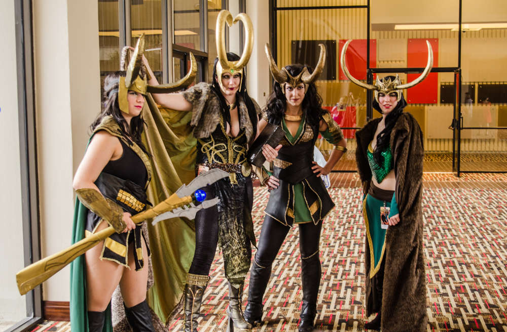 DragonCon 2012 - Marvel and Avengers photoshoot