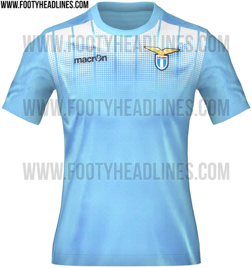 The New Lazio Jerseys For Next Season Are Really Really Nice To Look ... 2cfff6060f599