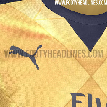 Arsenal s New 3rd Kit For Next Season Is A Golden Throwback To The ... 2d0f728e6