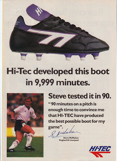 nike air football boots 1990's