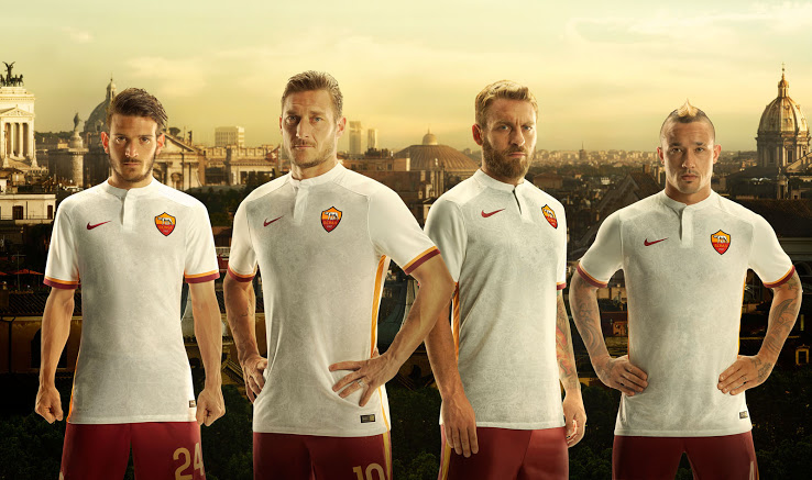 sports shoes 3ba7a 83983 AS Roma's New Away Kit Features A Historical Map Of Rome And ...