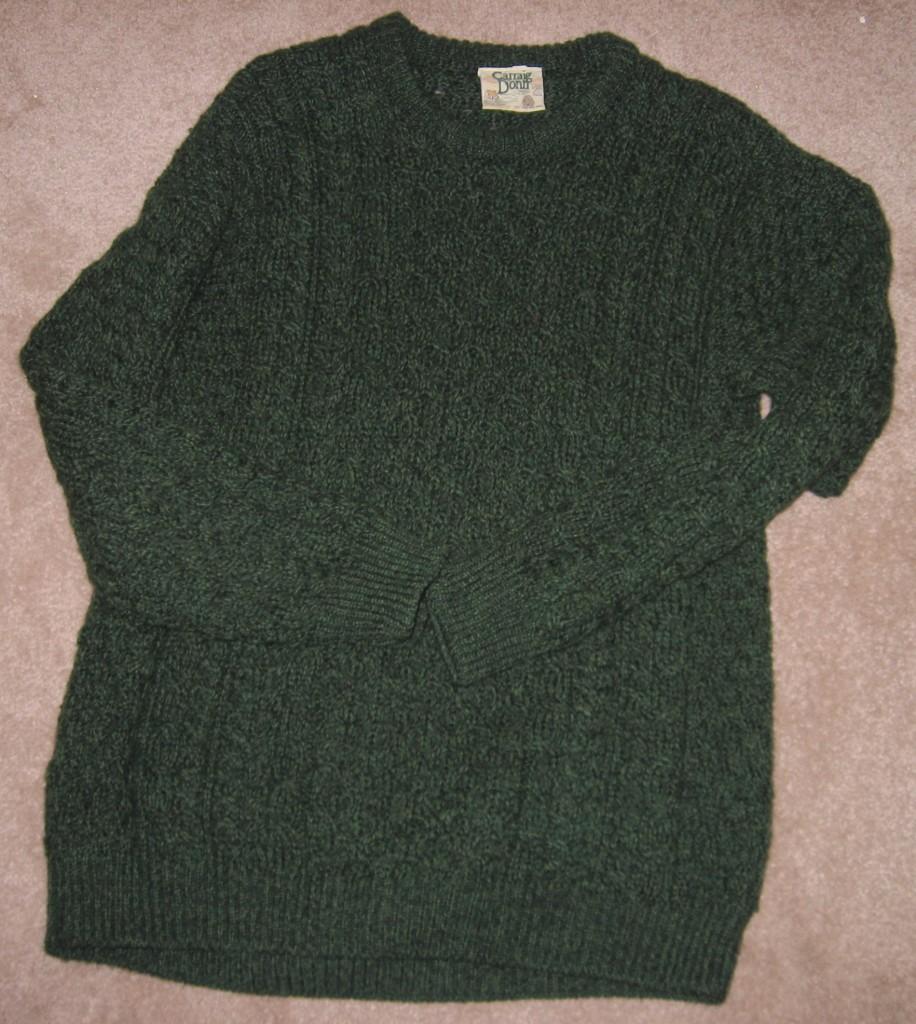 Green_Aran_Sweater