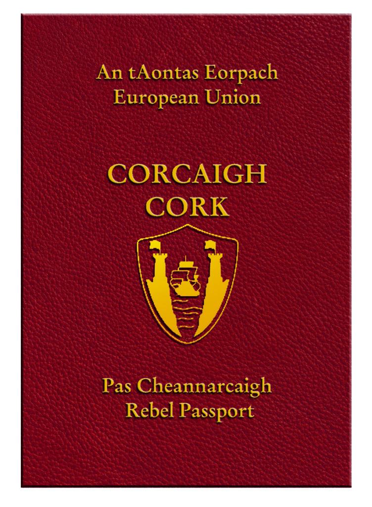Cork Rebel Passport