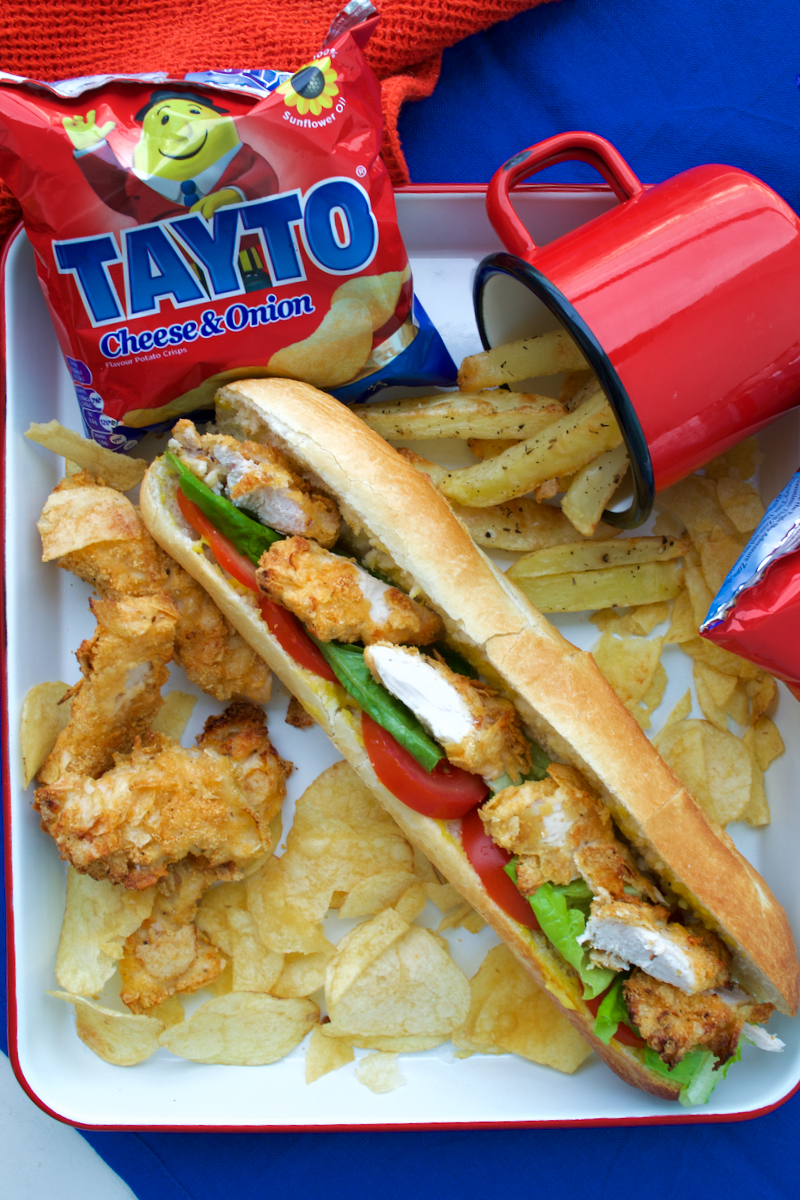 tayto roll surrounded by crisps
