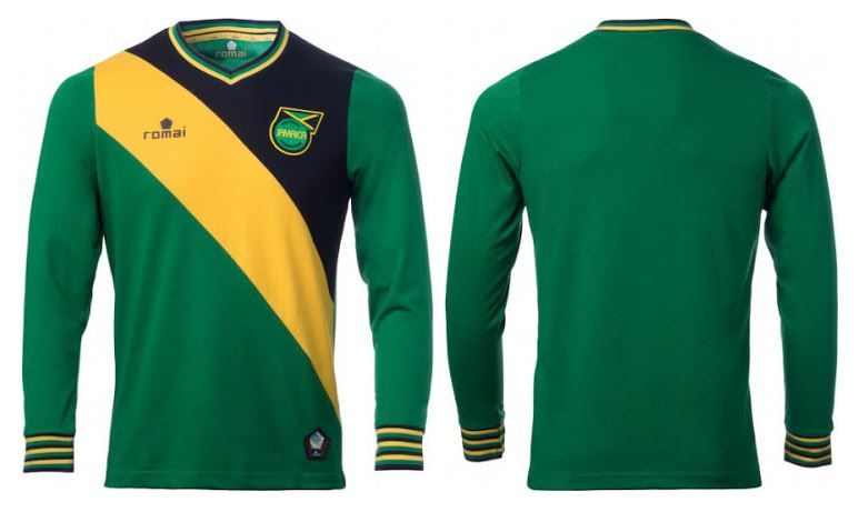 751ef3c6 Jamaica's Sexy New Retro-Style Jerseys Would Make Ali G Drool   Balls.ie