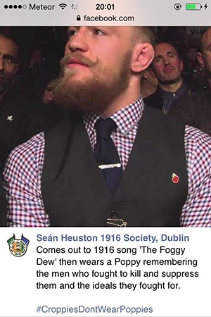 conor mcgregor poppy