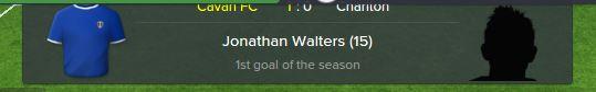 walters goal
