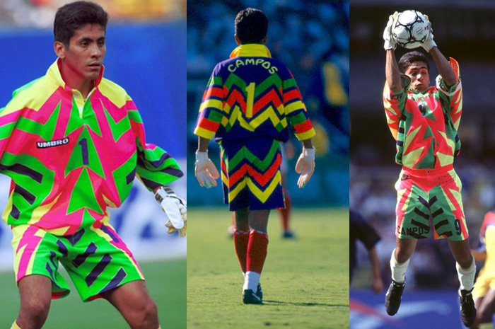 A Tribute To The Magnificently Mental Goalkeeping Jerseys Of The 90s ... d75954467