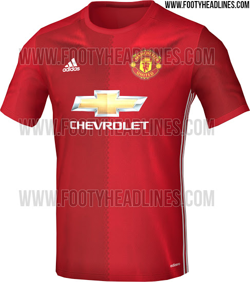 Footyheadlines Manchester United 2018 19 Season Home Kit: Update: The First Leaked Images Of Man United's New Jersey