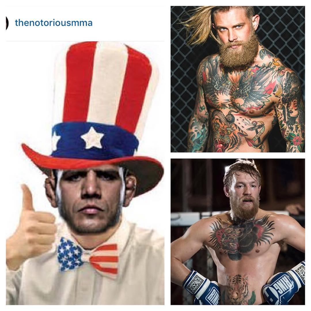 Did Conor McGregor Steal His Look From A Male Tattoo Model