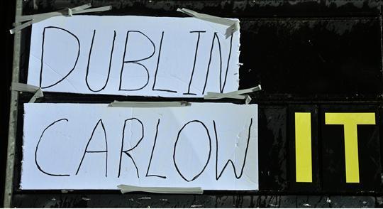 Dublin v IT Carlow O Byrne Cup 2016
