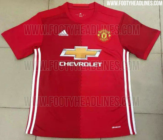 Update  The First Leaked Images Of Man United s New Jersey For Next ... 6733c2524c75