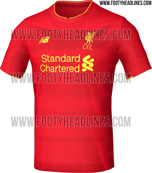 purchase cheap 984d6 8fb58 New Balance Mistakenly Revealed Liverpool's New Jersey For ...
