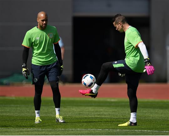 third choice goalkeeper