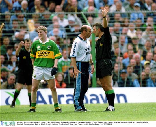dublin vs kerry 2001