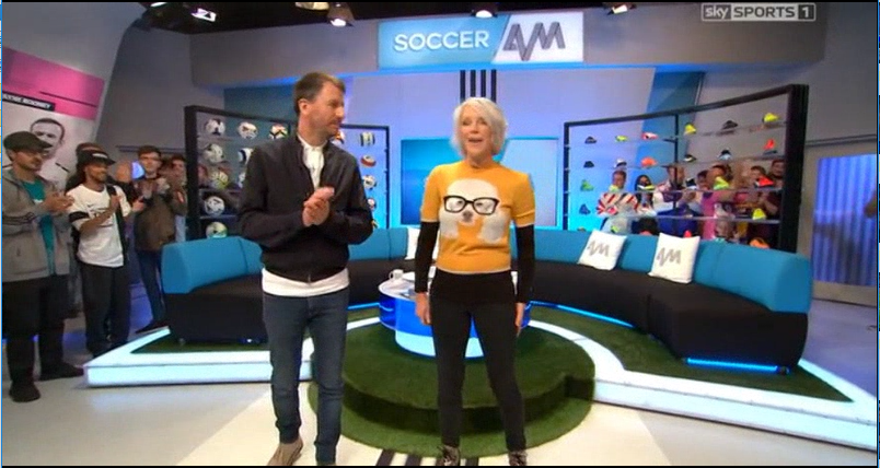 soccer am guests