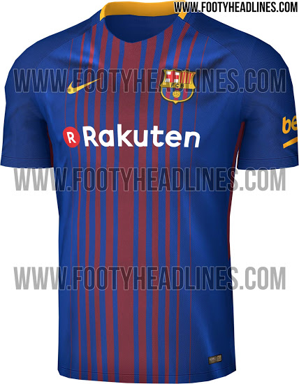 d0e70c2ec new barcelona home jersey