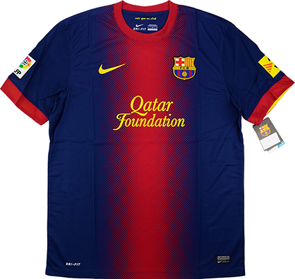 Barcelona S New And Very Blue Home Jersey For 2017 18 Has Been Leaked Balls Ie