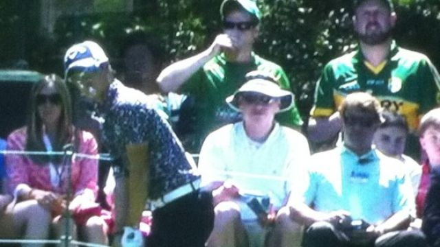 kerry jersey at the masters