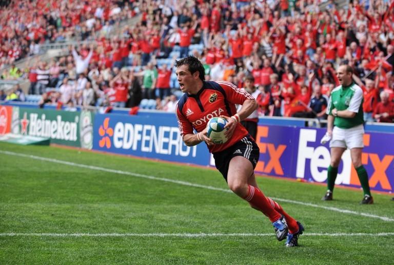 Munster v Saracens 2008